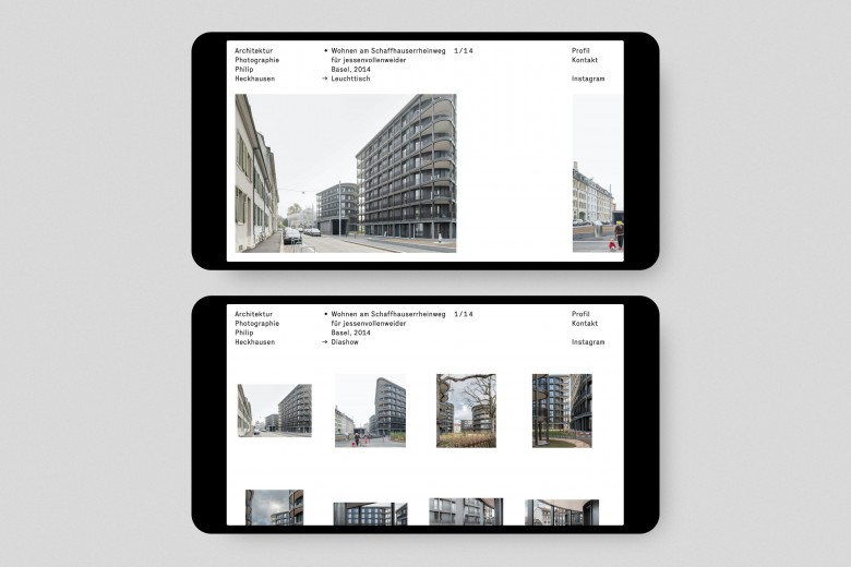 Architektur Photographie Philip Heckhausen Website