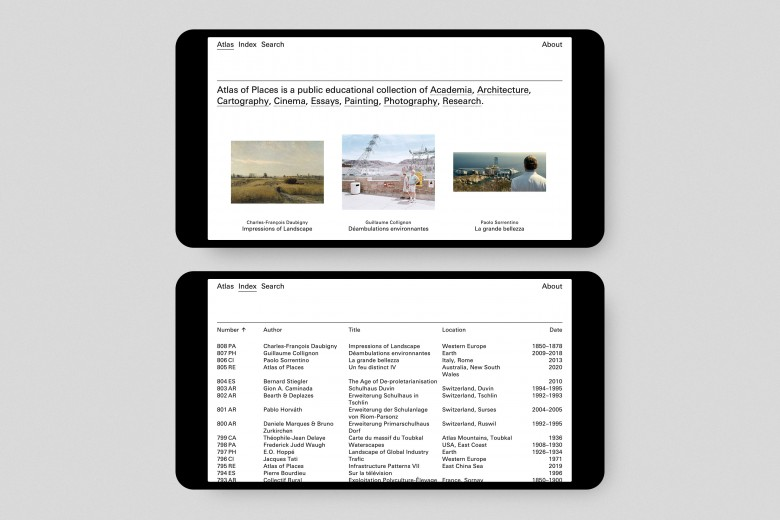 Atlas of Places Website 2