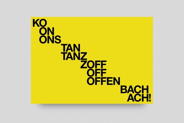 Konstanz to Offenbach Change of Address Postcard