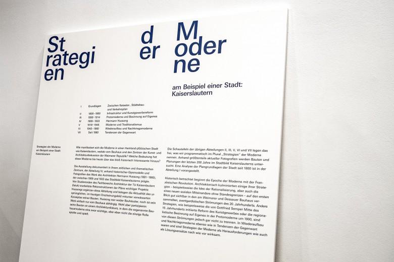 Strategien der Moderne Exhibition Design 10