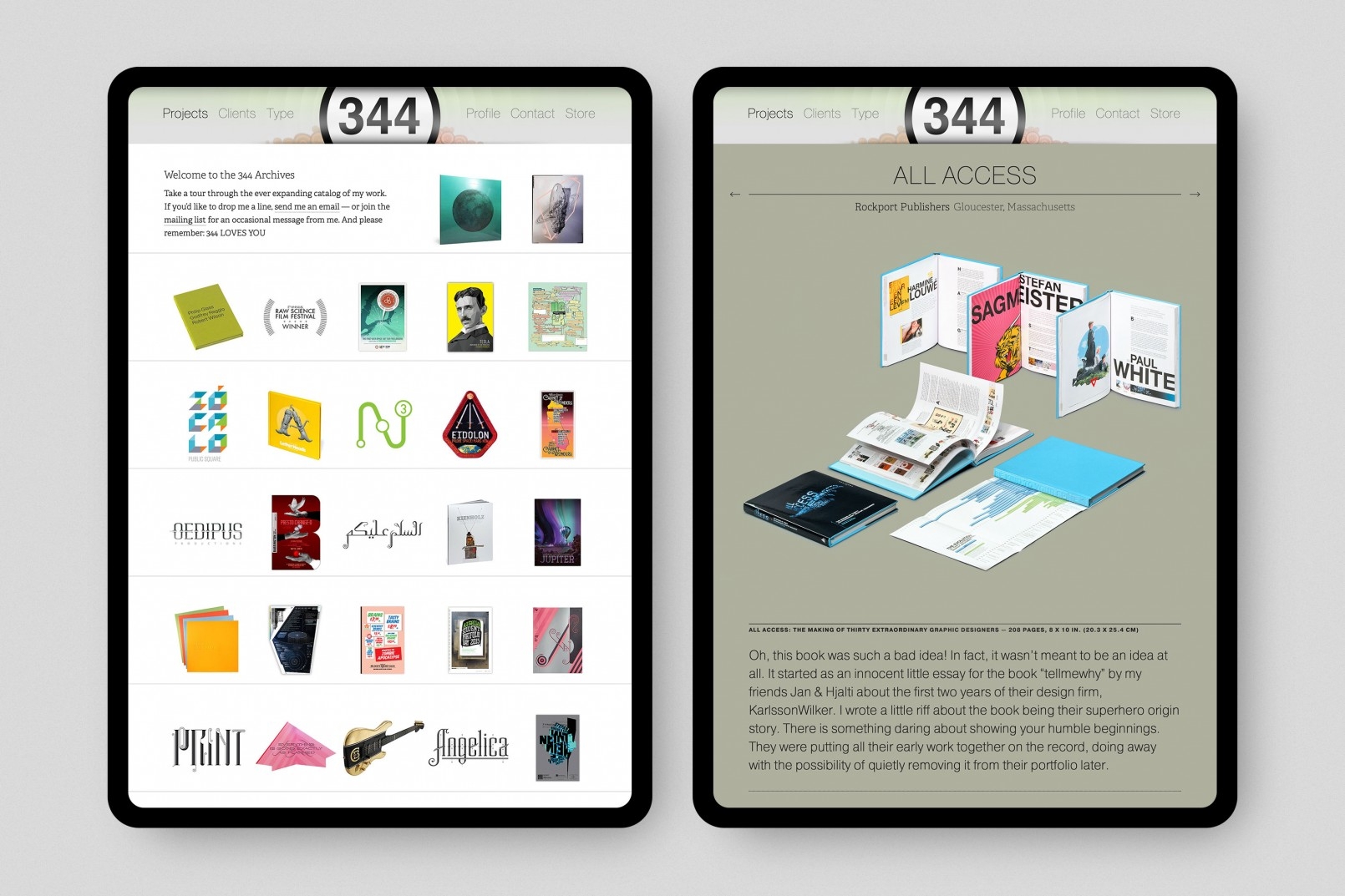 344 Design Website