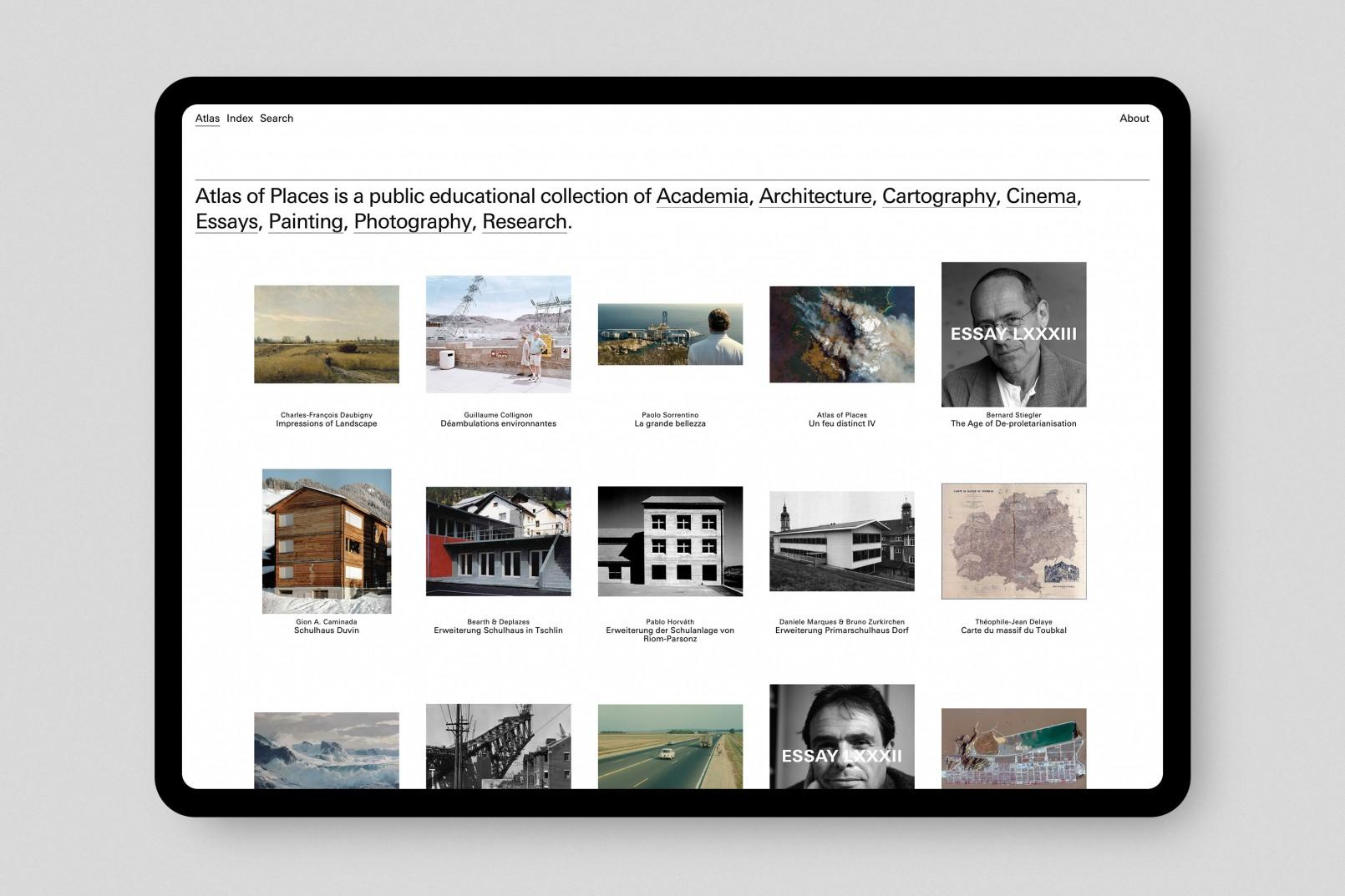 Atlas of Places Website