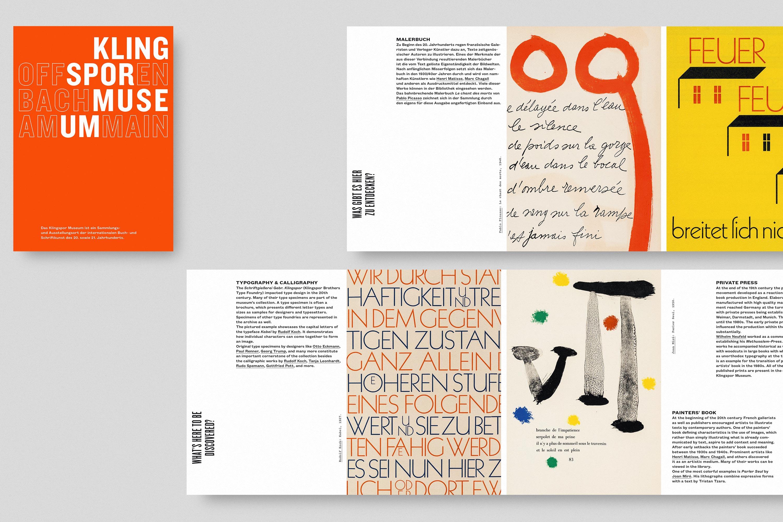 Klingspor Museum Printed Material 5