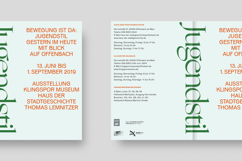 Klingspor Museum Printed Material 7