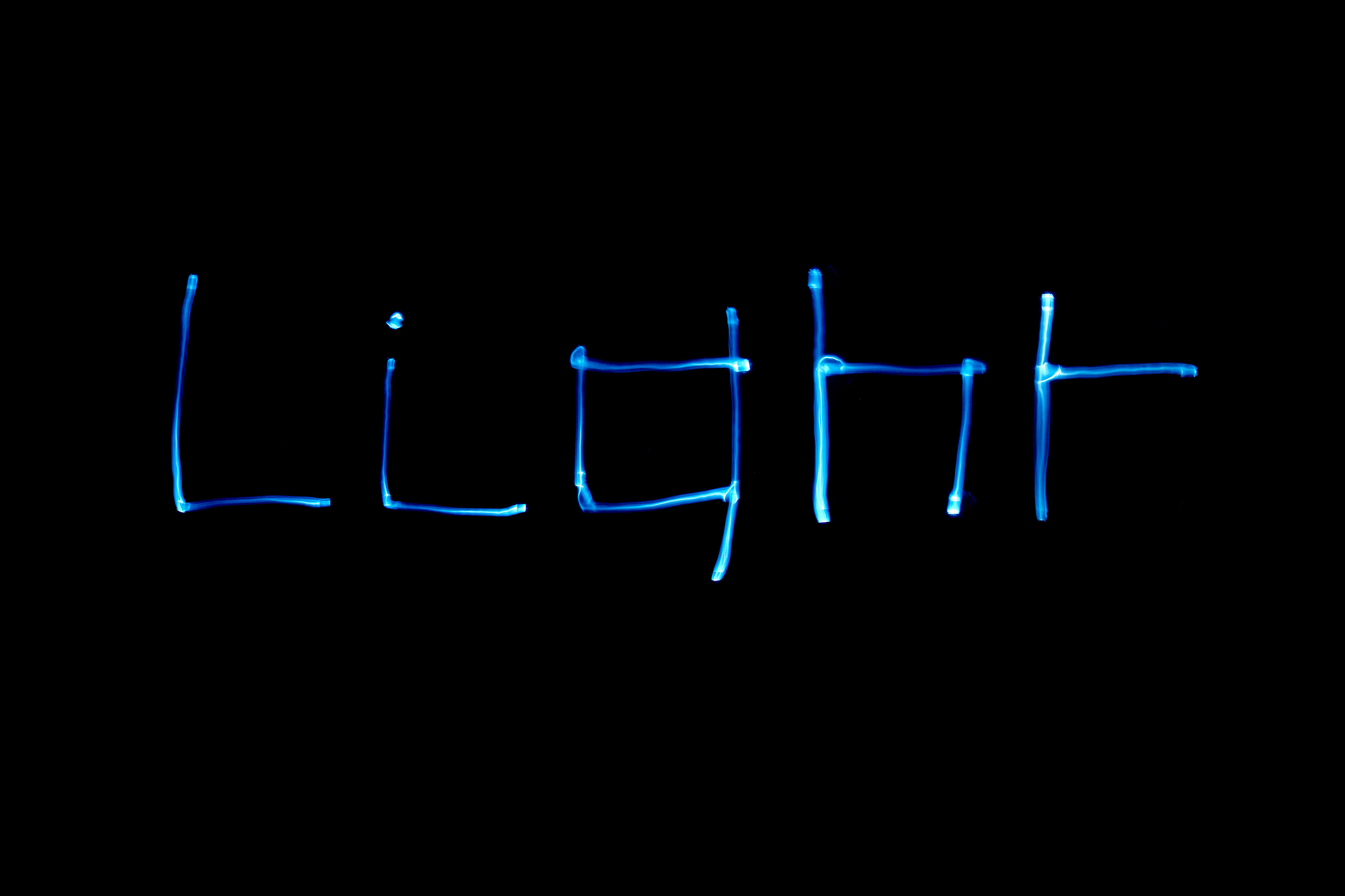 New Lightphabet Typeface 2